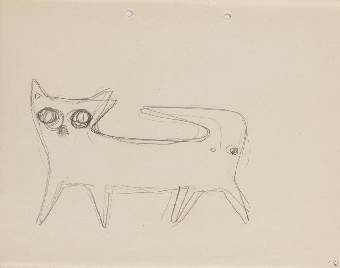 Gio Ponti (Milano 1891 - Milano 1979)Tre studi di