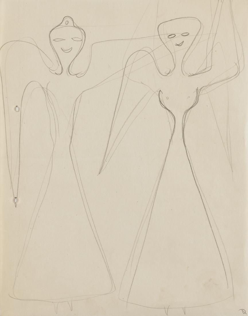 Gio Ponti (Milano 1891 - Milano 1979)Tre studi di - 2