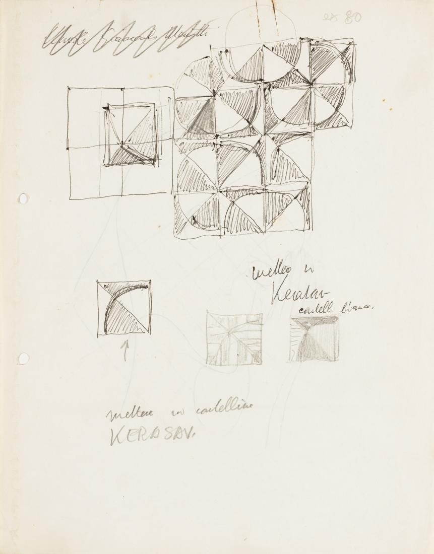 Gio Ponti (Milano 1891 - Milano 1979)Lotto di sette - 6