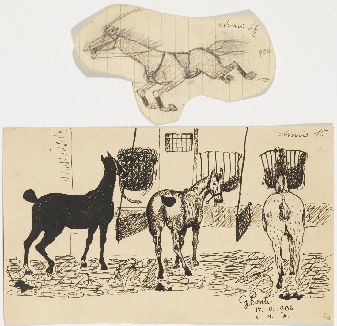 Gio Ponti (Milano 1891 - Milano 1979)Lotto di undici - 4