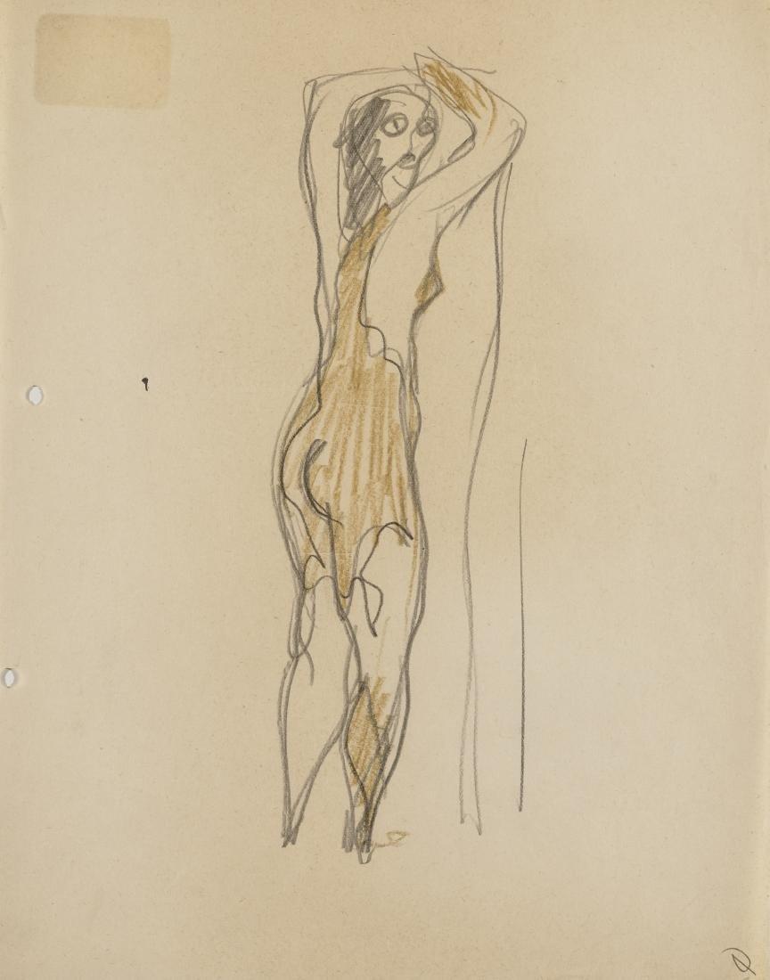 Gio Ponti (Milano 1891 - Milano 1979)Due studi per i