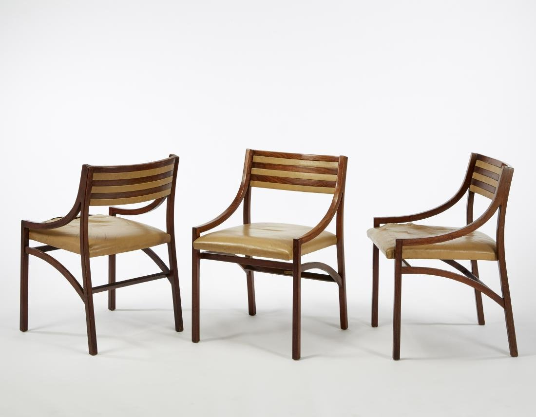 Ico Parisi (Palermo 1916 - Como 1996)Tre sedie modello
