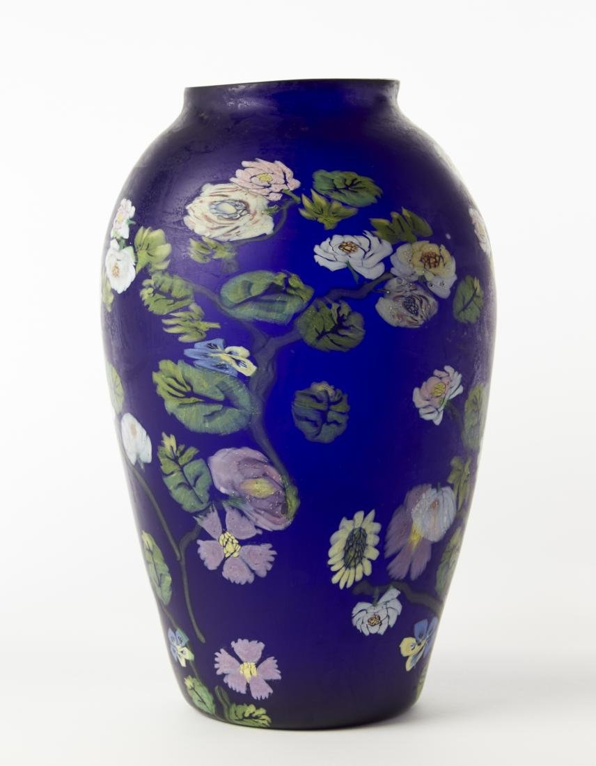 Artisti Barovier Grande vaso in vetro soffiato a - 2