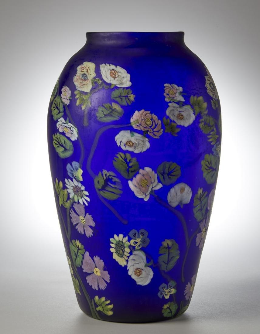 Artisti Barovier Grande vaso in vetro soffiato a - 3