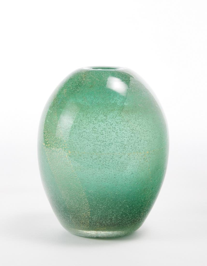 Carlo Scarpa (Venezia 1906 - Sendai 1978)Vaso in vetro