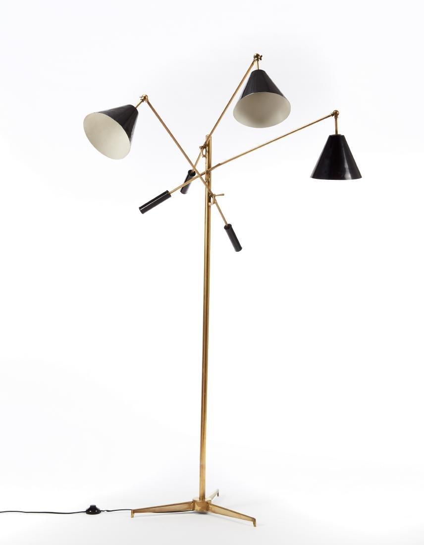 "Angelo Lelii (Ancona 1915 - 1987)Lampada modello ""12128"