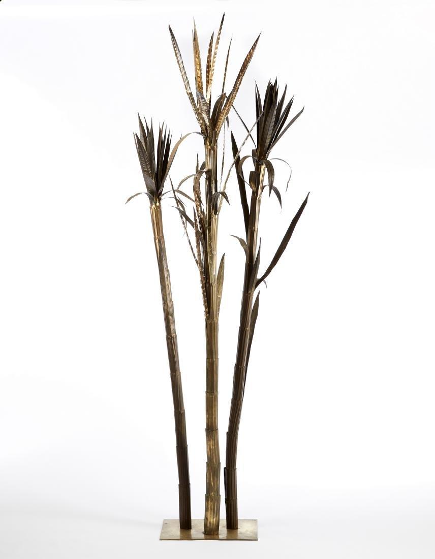 Manifattura italiana Palma decorative in lamina di