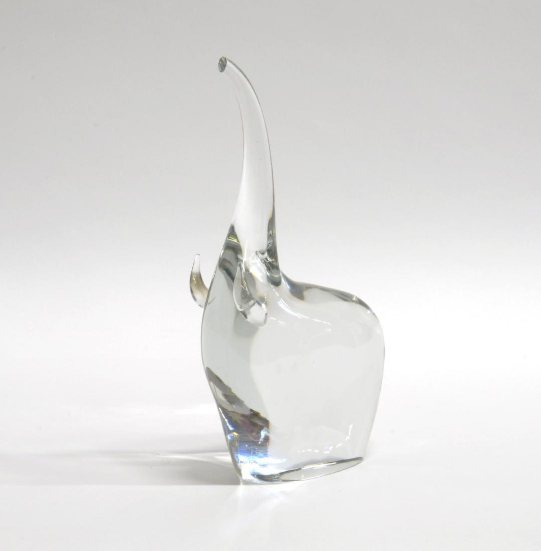 Antonio Da Ros (Venezia 1936) Elefante in vetro.