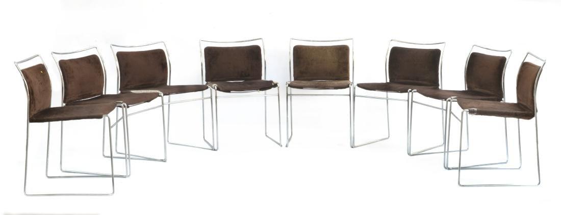 Kazuhide Takahama (1930 - 2010)Otto sedie modello