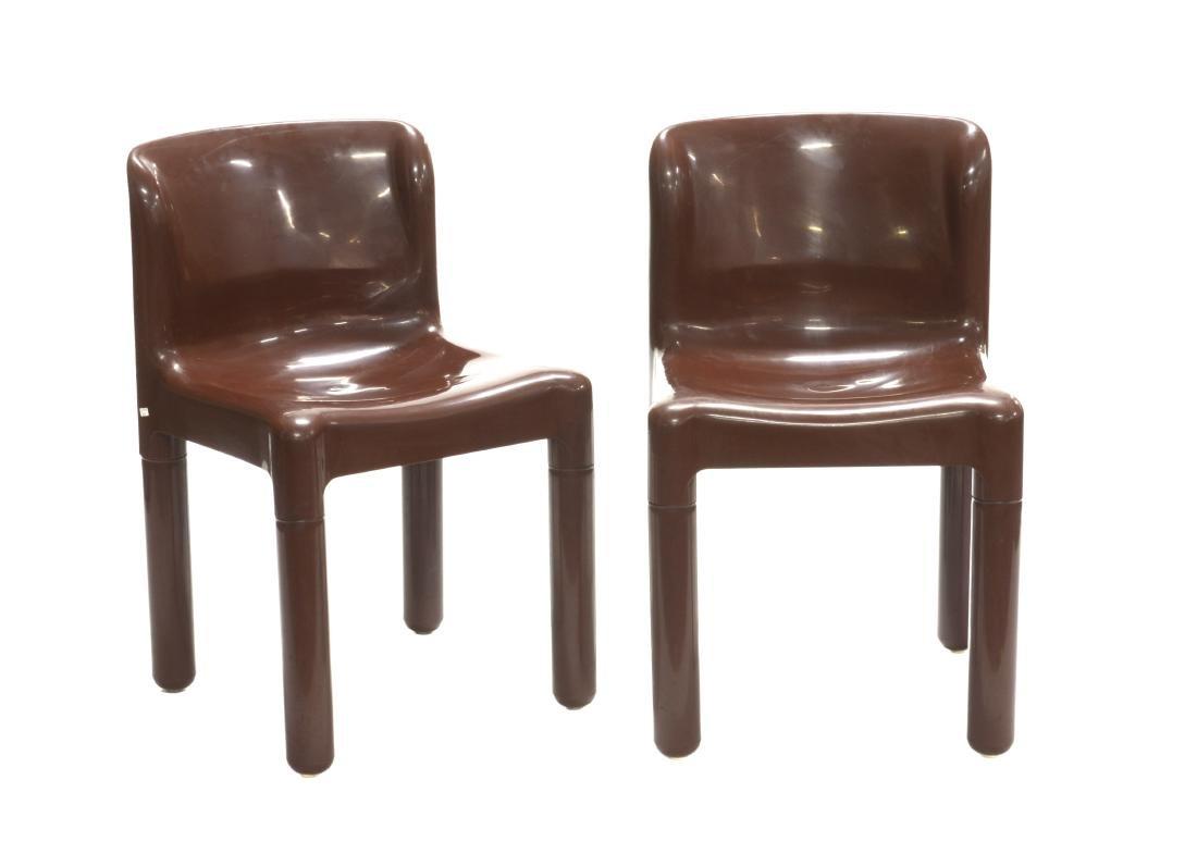 Carlo Bartoli (Milano 1931)Coppia di sedie modello