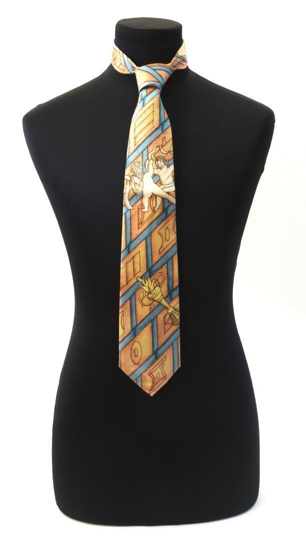 Neoponti Cravatta con fantasie tratte dai disegni e dai