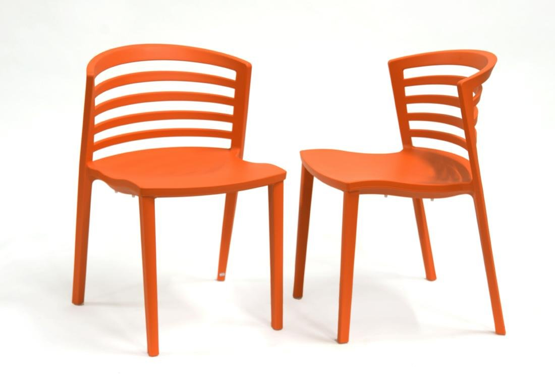 Paolo Favaretto (Padova 1950)Coppia di sedie modello