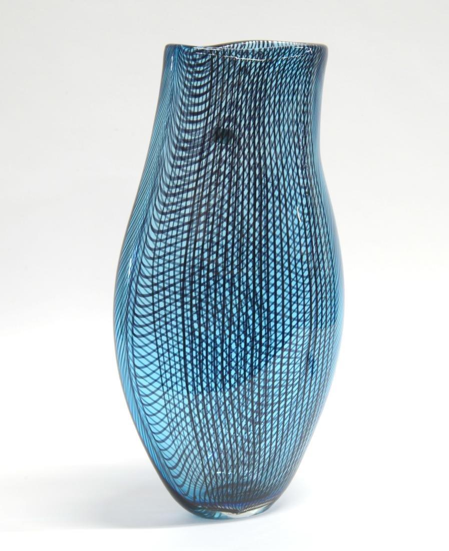 Afro Celotto (Venezia 1963)Vaso in vetro, Murano.Grande
