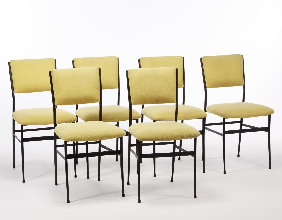 Alfredo Borghi Sei sedie. Esecuzione Arredamenti