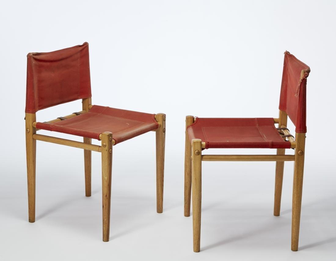 Gianfrnaco Legler (1922)Coppia di sedie modello