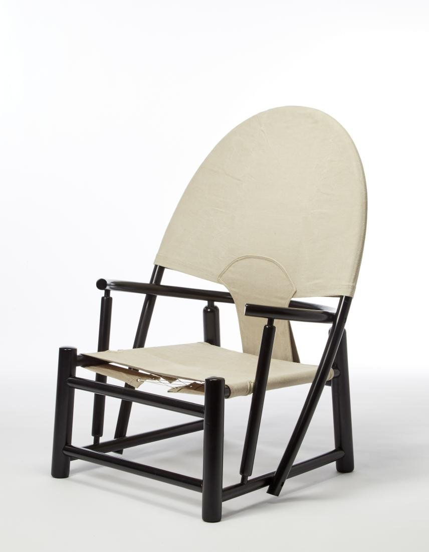 "Werther Toffoloni * Poltrona modello ""Hoop Chair""."
