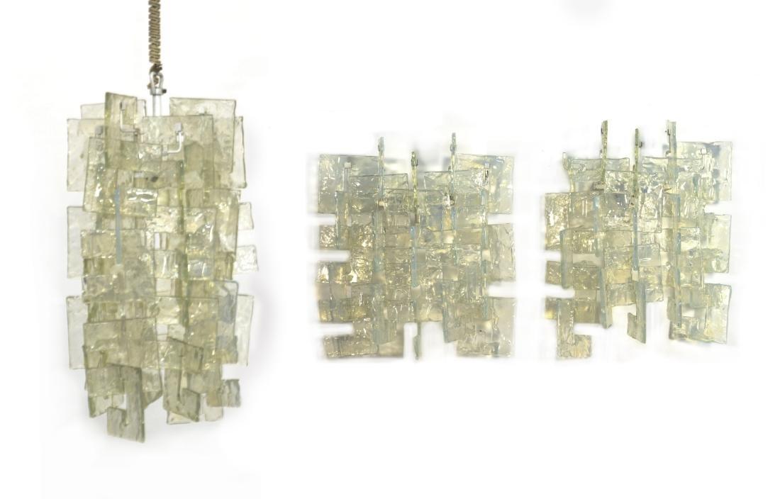 Mazzega Lotto composto da una lampada a sospensione e
