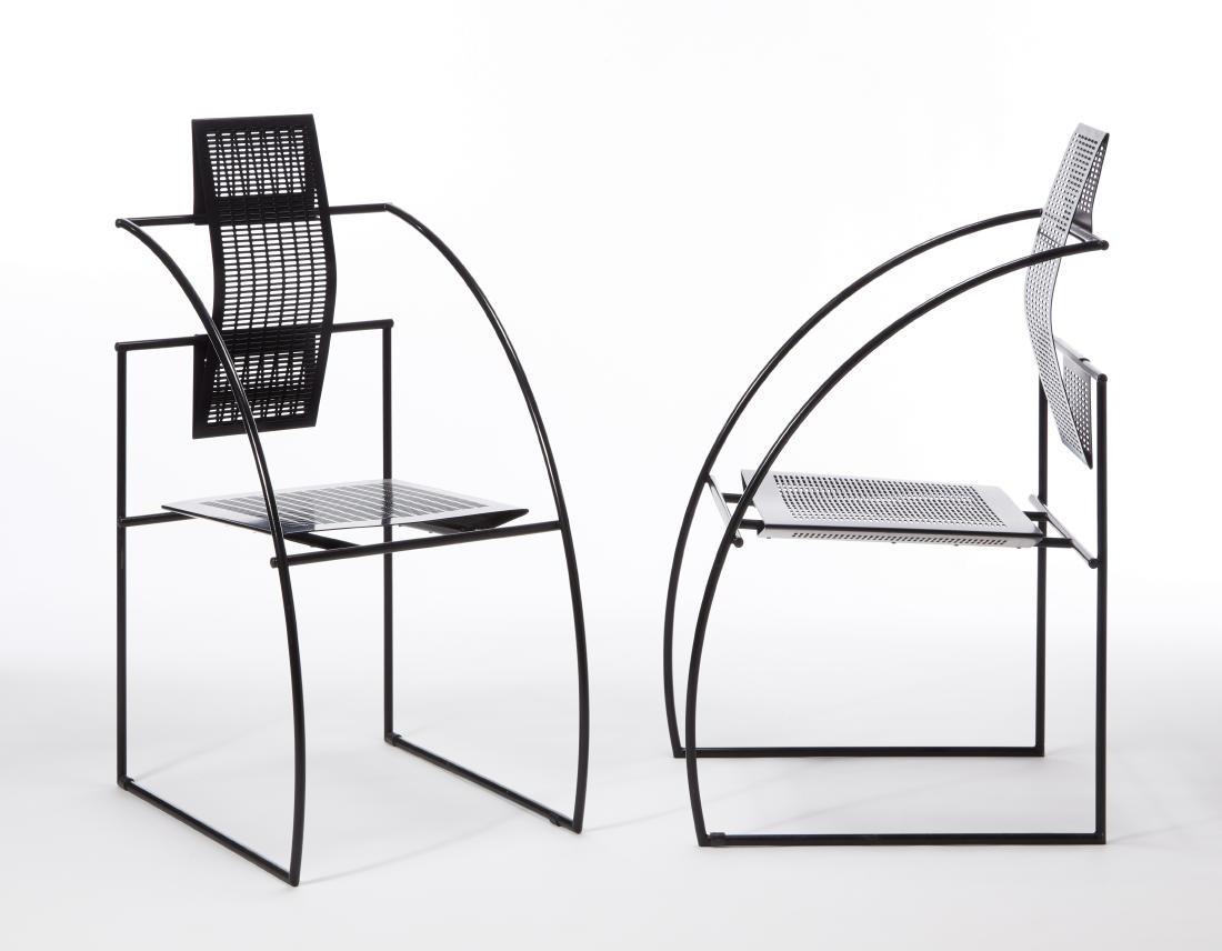 Mario Botta (Mendrisio 1943)Coppia di sedie modello