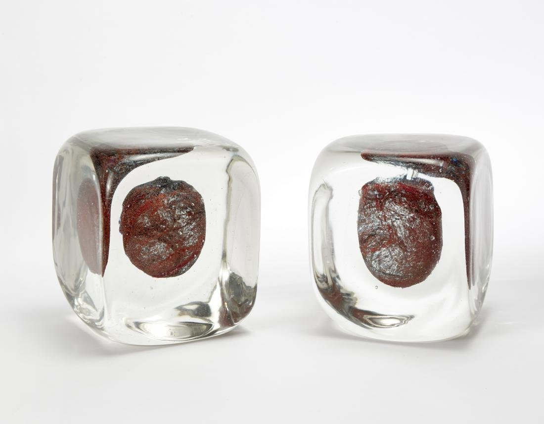 Toni Zuccheri (Venezia 1937 - 2008)Due sculture
