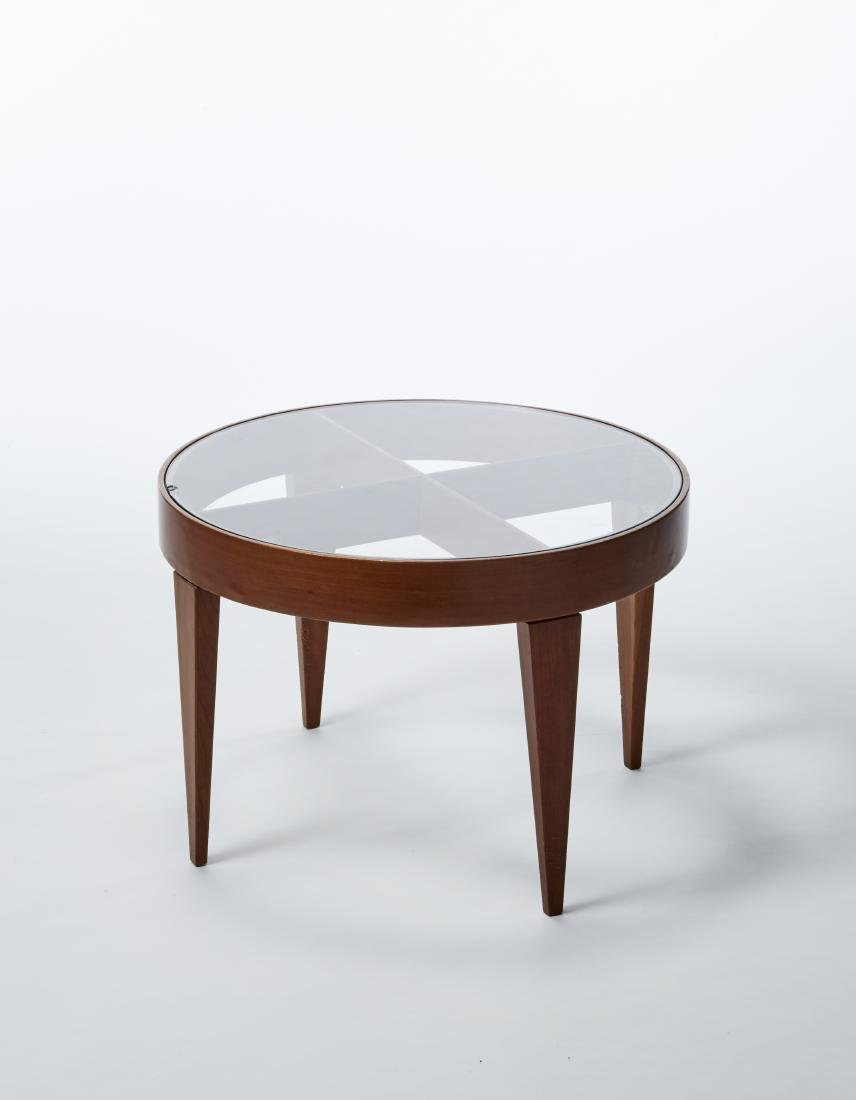"Neoponti Circular coffee table model ""Anna"" inspired by"