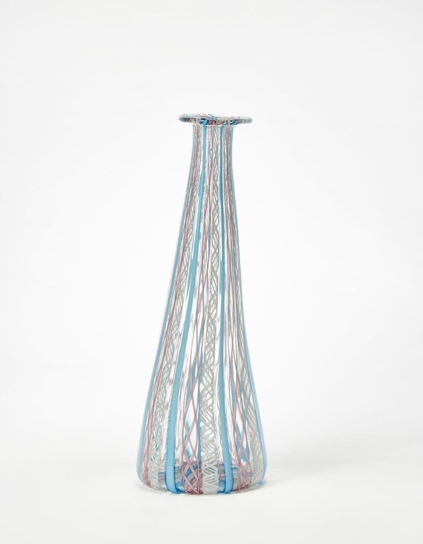 Manifattura di Murano Bottiglia in vetro soffiato a