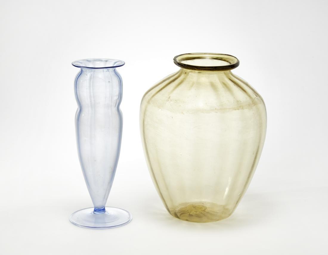 Manifattura di Murano Lotto composto da un vaso