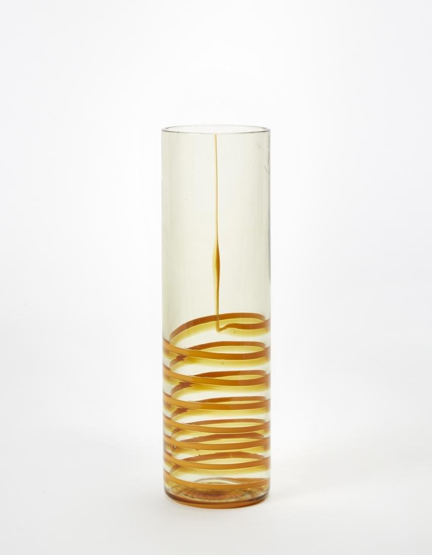"""Studio Venini Vaso modello """"Bifilo"""". Venini, Murano,"""