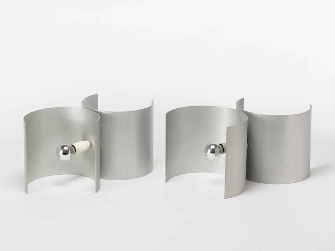 Nucleo - Sormani Coppia di lampade da tavolo. Italia,