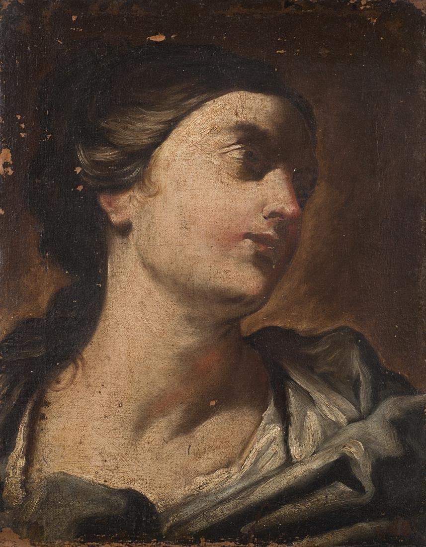 Circle of Giuseppe Maria Crespi  Portrait of a woman