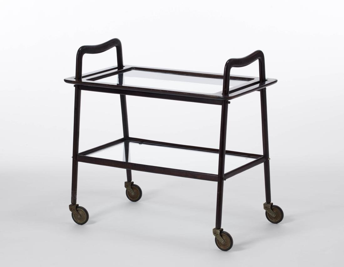Ico Parisi (Palermo 1916 - Como 1996) Two trolleys with