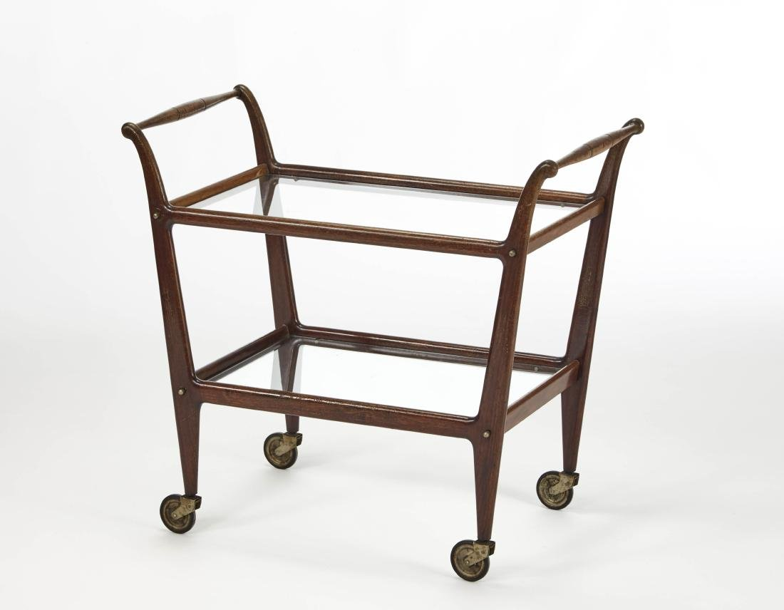 De Baggis  Trolley with Indian rosewood structure and