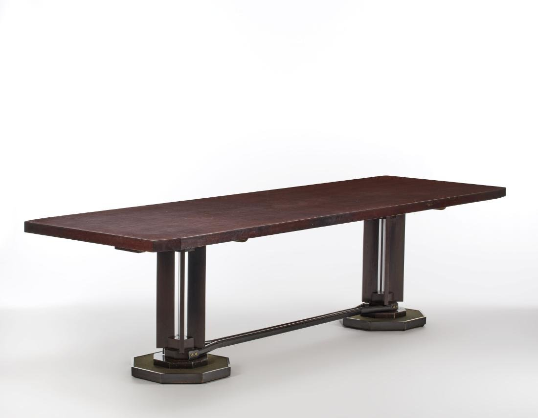 Renato Angeli  Large meeting table with octagonal top