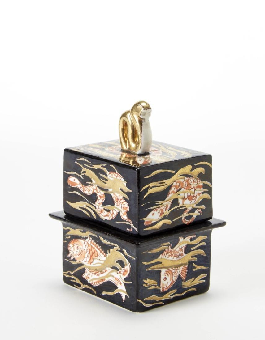 Gio Ponti (Milano 1891 - Milano 1979) Jewelry small box