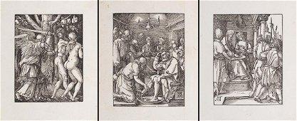 Albrecht Durer (Norimberga 1471 - 1528) Group of three