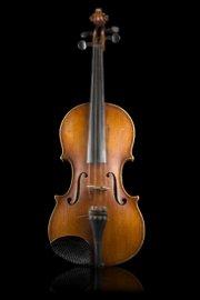 A violin by Enrico Politi, Rome 1929 two-piece back of