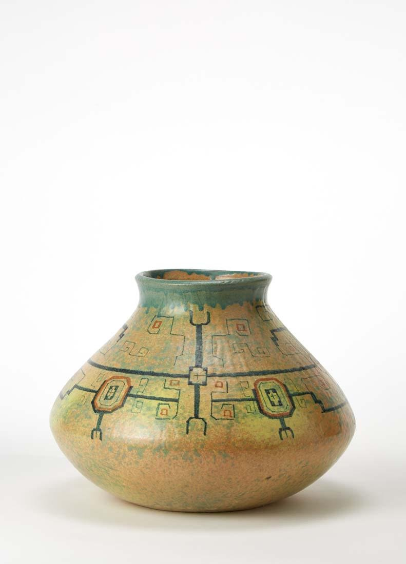 Anna Maria Pacetti  Ceramic vase worked on lathe and