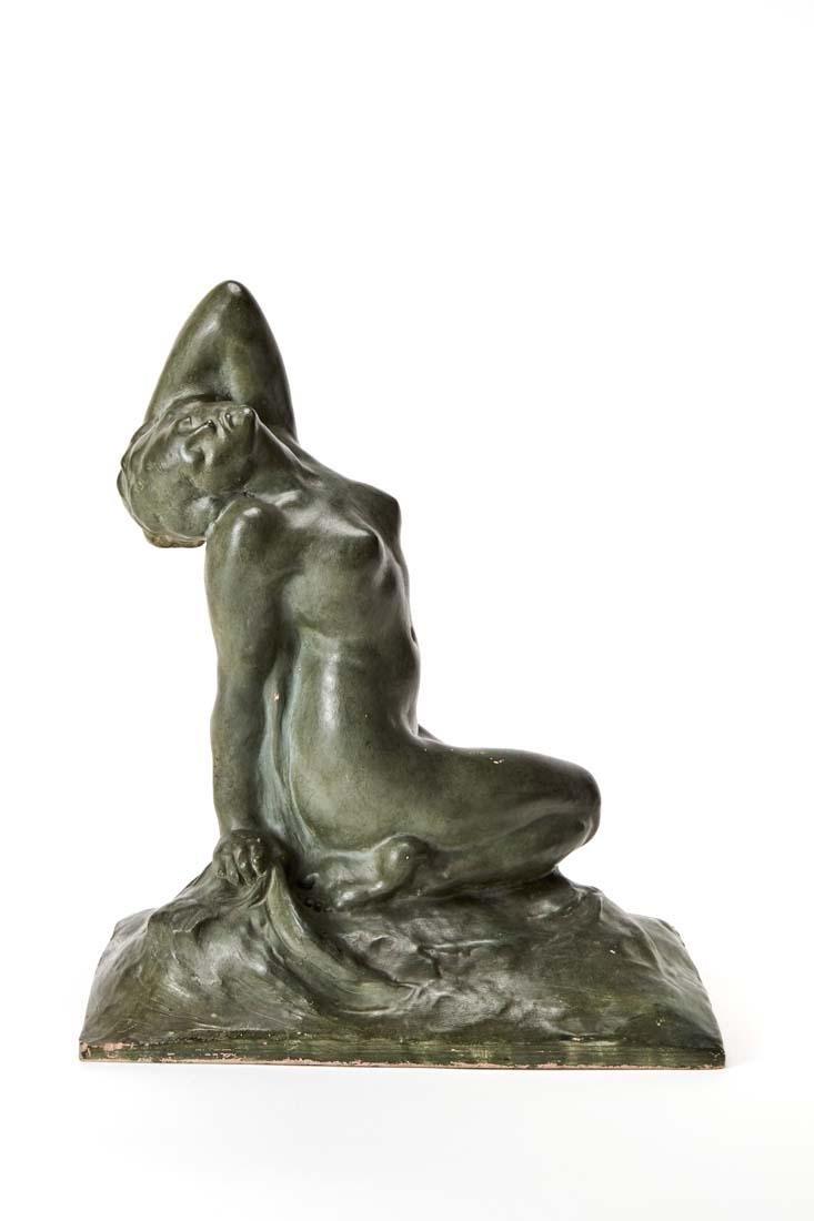 """Amedeo Gennarelli (Napoli 1881 - 1943) """"Nudo di donna"""""""