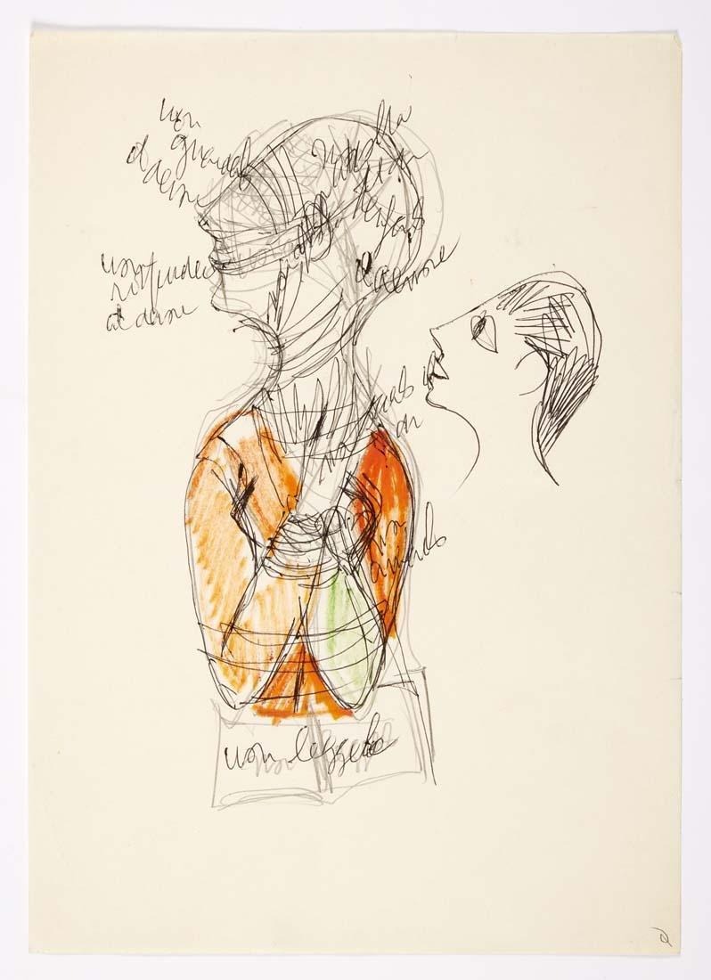 Gio Ponti (Milano 1891 - Milano 1979) Two sheets
