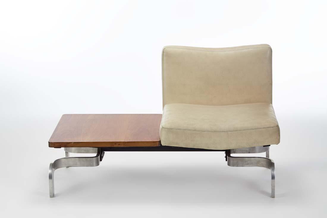 Marcel Blondel  Two-module sofa. 1969. Single seat