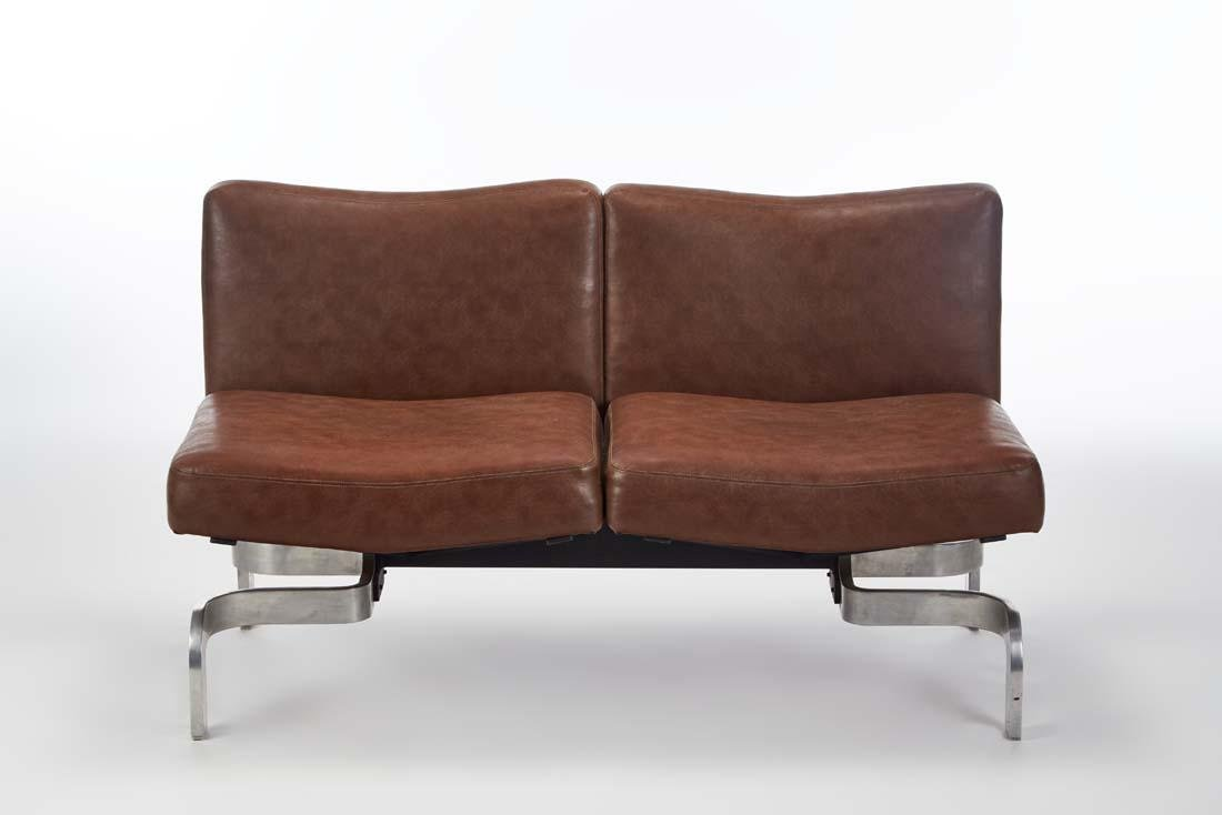Marcel Blondel  Two-module sofa. 1969. Double seat