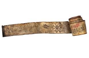 [MAGIA] - Rotolo magico. Ethiopia: Prima metà XIX