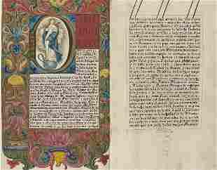 [SPAGNA] - Carta Executoria de Hidalgia riferita a