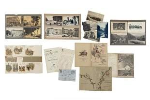 PUCCINI, Giacomo (1858-1924) - Una cartolina inviata da