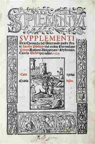 FORESTI Giacomo Filippo (1434-1520) - Supplementum