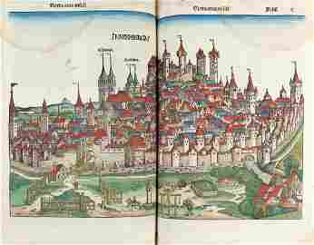 SCHEDEL, Hartmann (1440-1514) - Liber chronicarum.