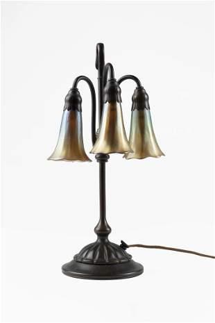 Tiffany Studios (Attributed) Table lamp model