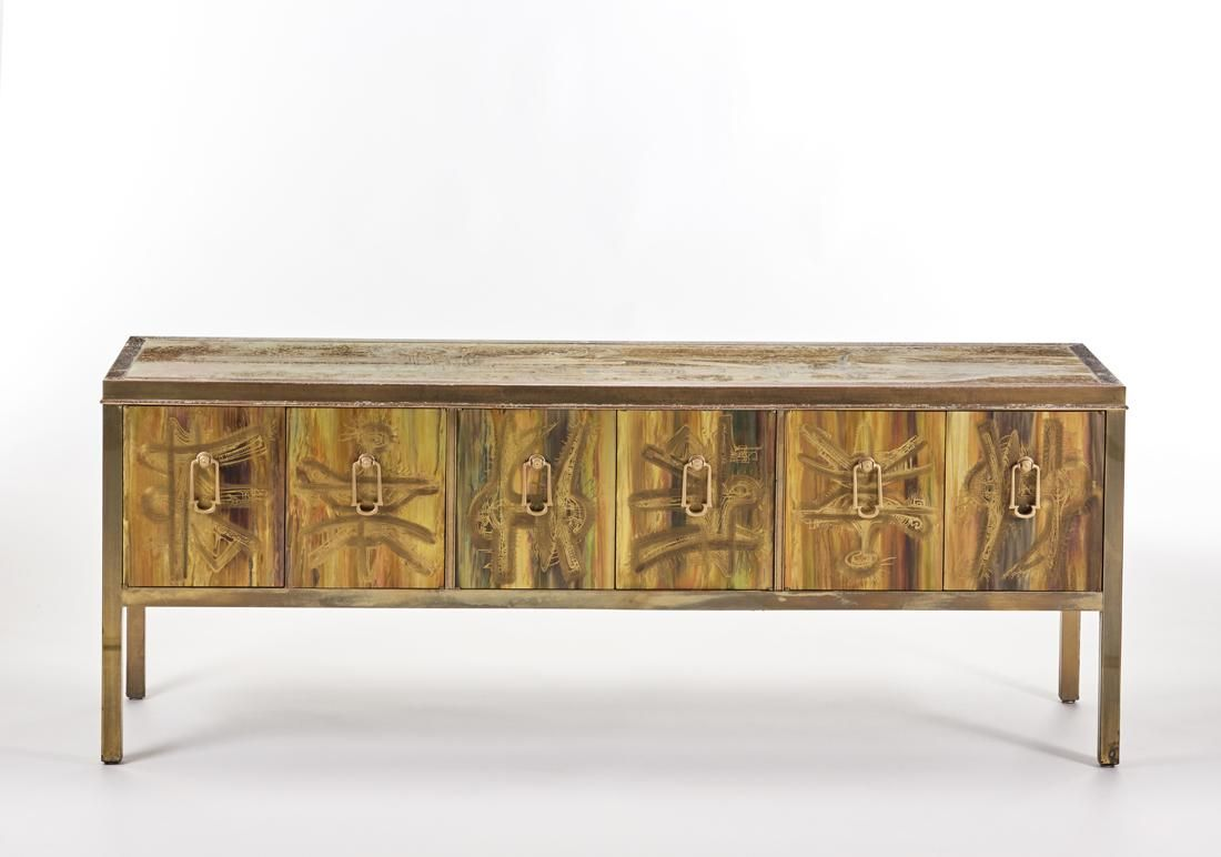 Bernhard Rohne (1944) * Sideboard. Produced by