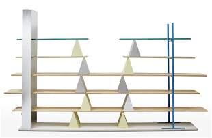 """Andrea Branzi (Firenze 1938) Bookcase model """"Gritti""""."""
