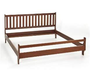 Franco Albini (Robbiate 1905 - Milano 1977) Double bed