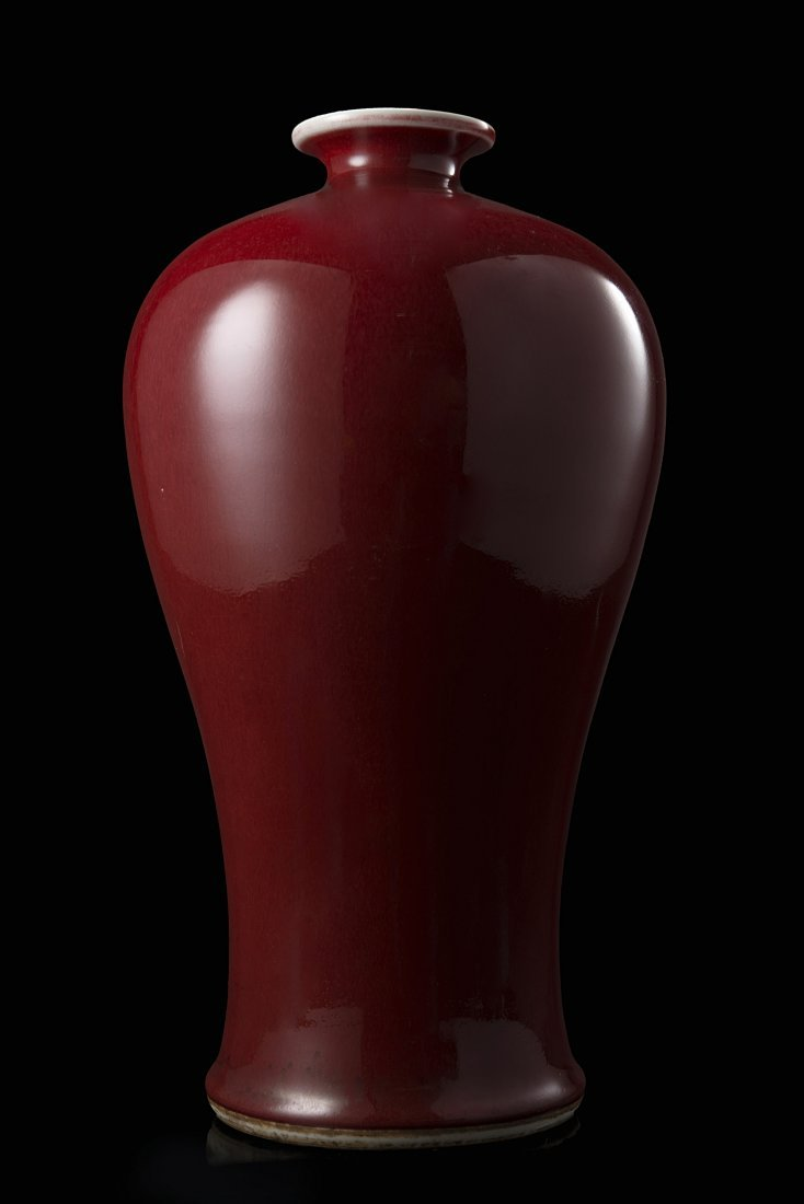 A meiping porcleain vase with sang-de-boeuf glaze